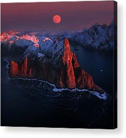 Blood Moon Acrylic Prints