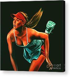 Maria Sharapova Acrylic Prints