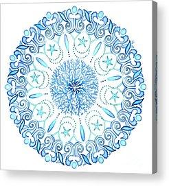 Mandala Acrylic Prints