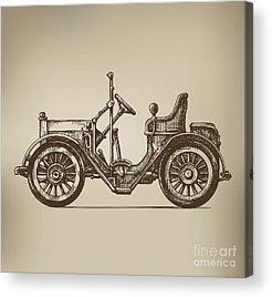 Sedan Acrylic Prints