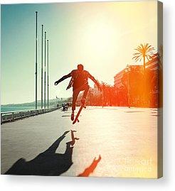 Skateboard Acrylic Prints