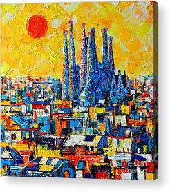 Spain Acrylic Prints