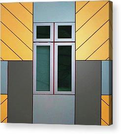 Cube House Acrylic Prints