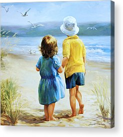 Brother And Sister Acrylic Prints