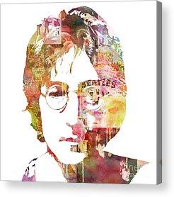 Lennon Acrylic Prints