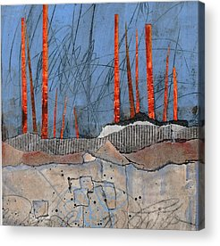 Acrylic Mixed Media Abstract Collage Acrylic Prints