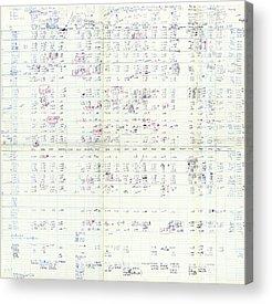 Ribonucleic Acid Acrylic Prints