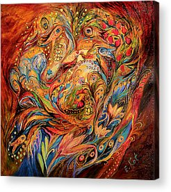 Hebrew Acrylic Prints