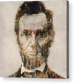 Gettysburg Address Acrylic Prints