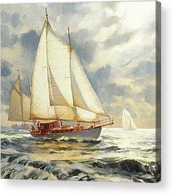 Sailboat Acrylic Prints