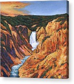 Yellowstone Park Acrylic Prints