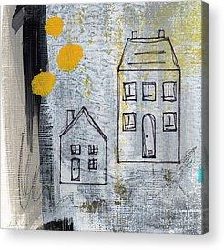 House Mixed Media Acrylic Prints