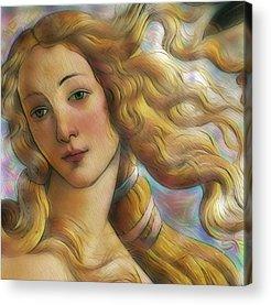 Uffizi Gallery Digital Art Acrylic Prints