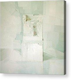 White Chair Acrylic Prints
