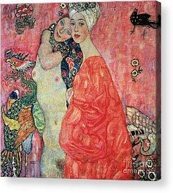 Intimacy Paintings Acrylic Prints
