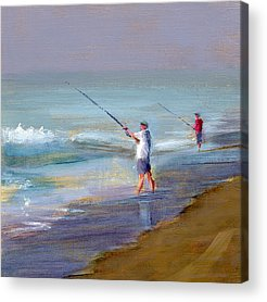 Fishing Acrylic Prints