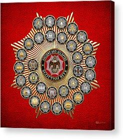 Masonic Insignia Acrylic Prints