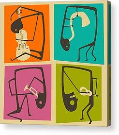 Cellos Acrylic Prints