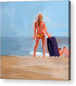 Bethany Beach Acrylic Prints