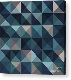 Triangles Acrylic Prints
