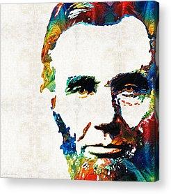 Abraham Lincoln Color Acrylic Prints