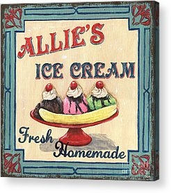 Ice Cream Acrylic Prints