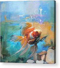 Goldfish Acrylic Prints
