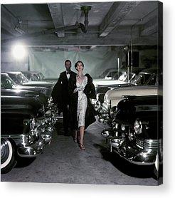 1950s Fashion Photographs Acrylic Prints