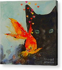 Kitten Acrylic Prints