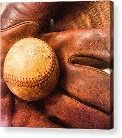 Baseball Acrylic Prints