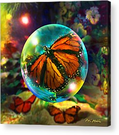 Monarch Acrylic Prints