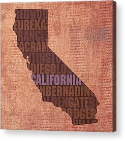 Los Angeles California Acrylic Prints