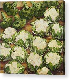 Cauliflower Acrylic Prints