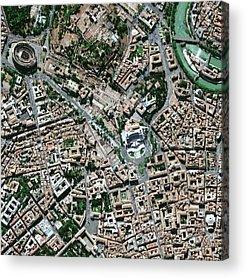 Tiber Island Acrylic Prints