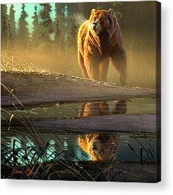 Grizzlies Acrylic Prints