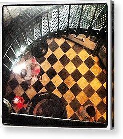 Checkered Pattern Acrylic Prints