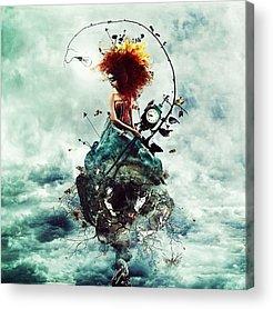 Redhead Acrylic Prints
