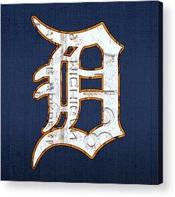 Baseball Mixed Media Acrylic Prints