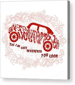 Car Concepts Acrylic Prints