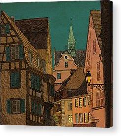 Alsace Acrylic Prints