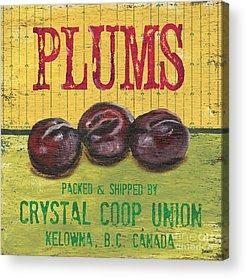 Plum Acrylic Prints