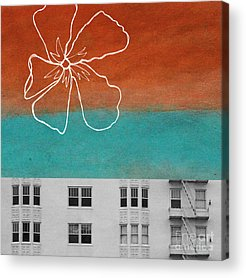 Urban Mixed Media Acrylic Prints
