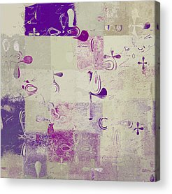 Abbstract Floral Acrylic Prints