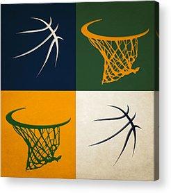 Utah Jazz Acrylic Prints