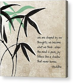 Bamboo Mixed Media Acrylic Prints