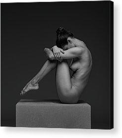 Crouching Acrylic Prints