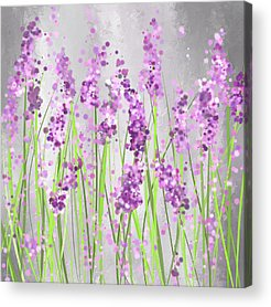 Purple Artwork Acrylic Prints