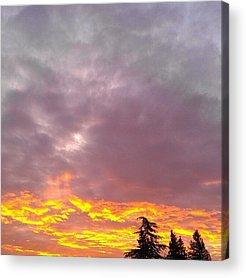 Beautiful Sunrise Acrylic Prints