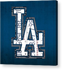 Los Angeles Dodgers Acrylic Prints