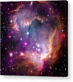 Hubble Telescope Acrylic Prints